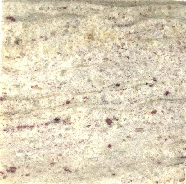 Granite Color sample, River White Granite Sample