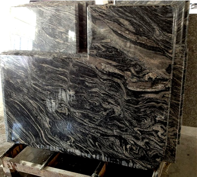 China Granite Color : GB044 Wave Panning Sample