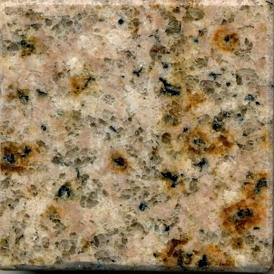 G682 Golden Peach Granite Sample