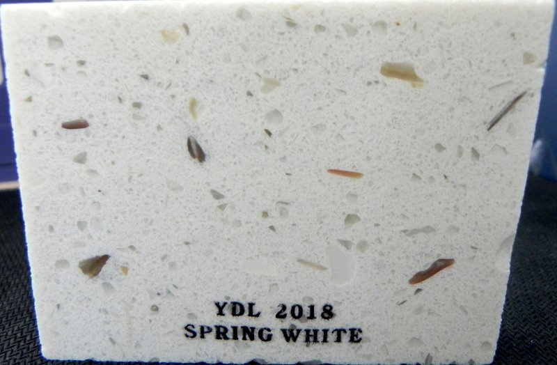 Quartz Spring White Slab YDL-2018