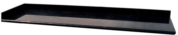 Vanity Top 96 inches - G684-Black Granite